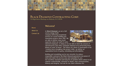 Preview of blackdiamondcontracting.biz