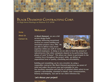 Tablet Preview of blackdiamondcontracting.biz